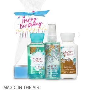 Bath and Body Works Magic in the Air gift set